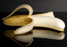香蕉 果子 反射 投反对票 相同的耐心 免版税库存图片