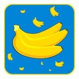 香蕉 向量例证
