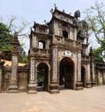 香水塔,河内,越南寺庙  免版税库存照片