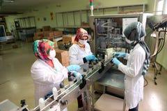 香水工厂在土耳其 库存照片