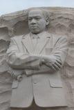 马丁路德金纪念品雕象 免版税图库摄影