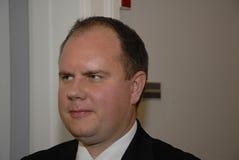 马丁HENRIKSEN _PARTY代表 库存图片