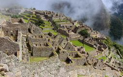 马丘比丘一个古城 免版税库存图片