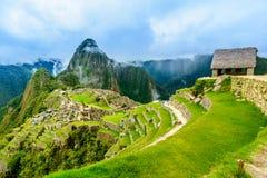 马丘比丘古老印加人镇  秘鲁 免版税库存图片