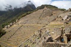 马丘比丘在秘鲁 库存图片