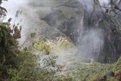 马丘比丘看见wayna Picchu 库存图片