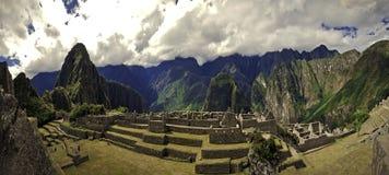 马丘比丘秘鲁,南美 库存照片