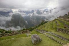 马丘比丘秘鲁 库存照片