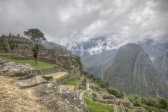 马丘比丘秘鲁 免版税库存照片