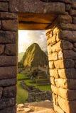 马丘比丘,库斯科,秘鲁 免版税库存图片