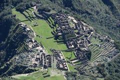 马丘比丘-印加人失去的城市 免版税库存图片