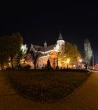 马修的教会在帕比亚尼采 库存照片