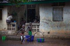 马克尼,邦巴利区,塞拉利昂,非洲 库存图片
