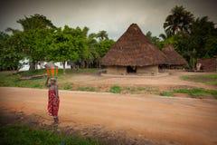 马克尼,邦巴利区,塞拉利昂,非洲 免版税库存图片