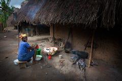 马克尼,邦巴利区,塞拉利昂,非洲 免版税图库摄影