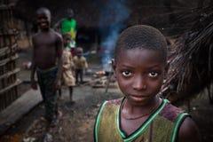 马克尼,邦巴利区,塞拉利昂,非洲 免版税库存照片