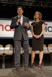 马克罗・鲁比奥举行竞选集会在得克萨斯驻地,达拉斯舞厅,北部拉斯维加斯, NV 免版税库存照片