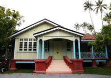 马六甲,马来西亚的种族房子 库存照片