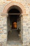 马其顿、Ohrid/Ochrid、圣徒KClement和Pantelimon教会 免版税库存照片