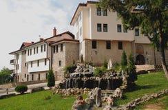马其顿修道院naum ohrid st 库存图片