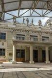 马其顿国家戏院在市斯科普里,马其顿共和国 库存照片