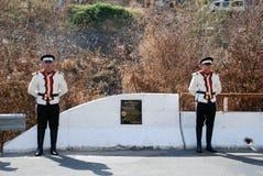 马其顿陆军的统一的战士 库存图片