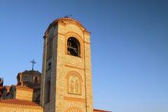 马其顿、宽容Ohrid/Ochrid、的圣徒和Pantelimon教会 免版税图库摄影