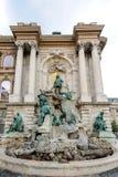 马加什一世喷泉 库存照片