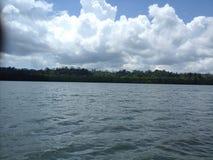 马努斯岛风景未编辑的照片 库存图片