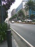 马卡蒂市街道 免版税库存照片