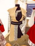 马哈拉施特拉邦的罗马尼亚传统服装伙计 库存照片