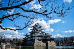 马塔莫罗斯城堡,长野,日本 库存图片