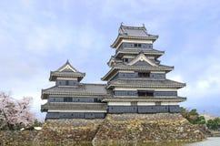 马塔莫罗斯城堡 免版税库存图片