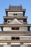 马塔莫罗斯城堡 免版税图库摄影