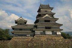 马塔莫罗斯城堡 免版税库存照片
