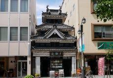 马塔莫罗斯,日本- 2017年5月16日:Seikando,旧书 免版税图库摄影