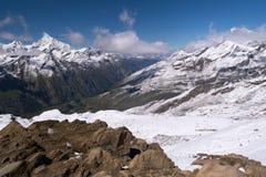 马塔角山,策马特,瑞士 图库摄影