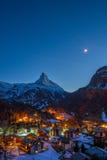 马塔角瑞士 免版税图库摄影