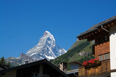 马塔角,瓦雷兹,瑞士 免版税库存照片