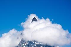 马塔角,瓦雷兹,瑞士 免版税库存图片
