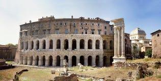 马塞勒斯・罗马剧院 免版税库存照片