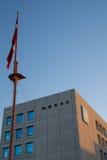 马士基线的全球性总部 免版税图库摄影