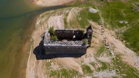 马夫罗沃国家公园废墟 免版税库存照片