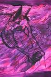 马头紫色精神 免版税库存图片