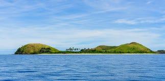 马娜海岛在斐济 免版税图库摄影