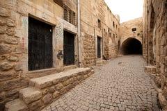 马尔丁老镇石大厦在土耳其。 免版税库存图片