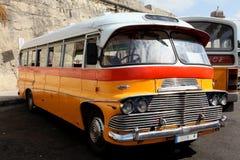 马尔他的公共汽车 免版税图库摄影