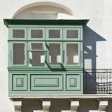 马尔他阳台在瓦莱塔 免版税库存照片