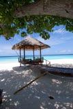 马尔代夫海景 免版税图库摄影