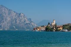 马尔切西内- Lago Di加尔达 免版税图库摄影